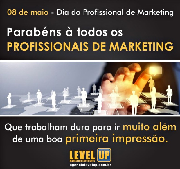 08 de maio Dia do Profissional de Marketing