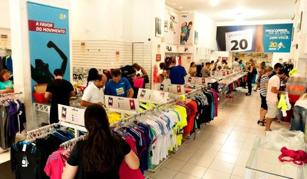 fluxo de consumidores