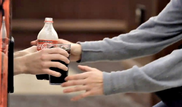 Coke Happiness Machine - Coca-Cola - Máquina da Felicidade